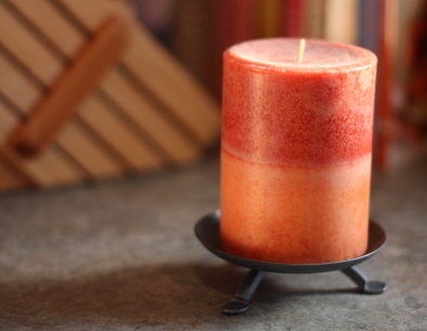 Candles can make instant ceremony.